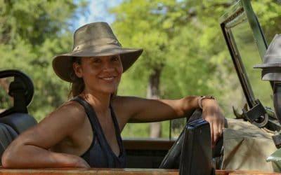Amanda Byram Visits Matetsi Victoria Falls