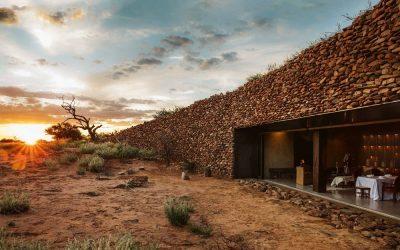 "Tswalu Kalahari's ""Most Beautiful"" Restaurant, Klein JAN"